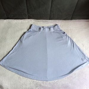 NWT ASOS Lavender Skater Skirt With Pockets